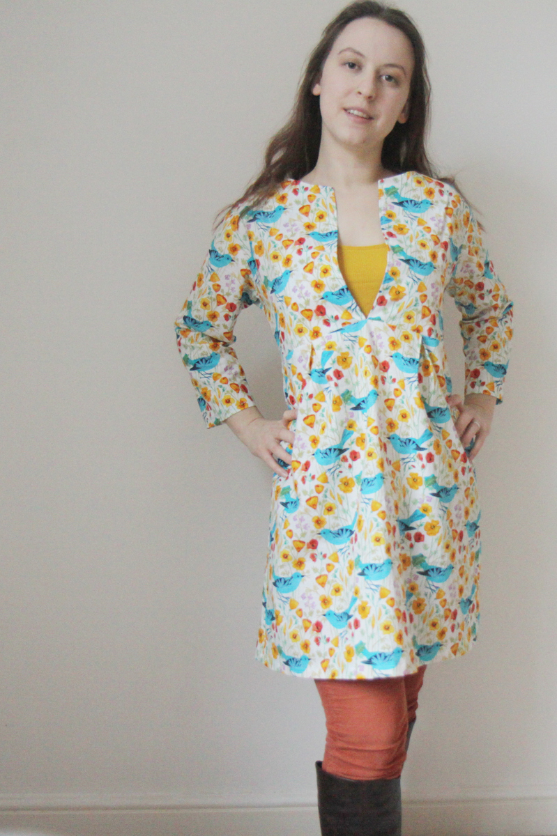 The Crafty Kitty | Schoolhouse Tunic