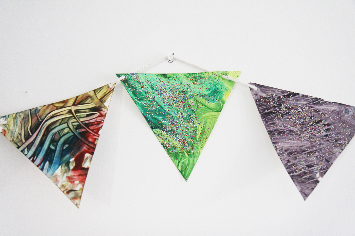 The Crafty Kitty | Close up of bunting