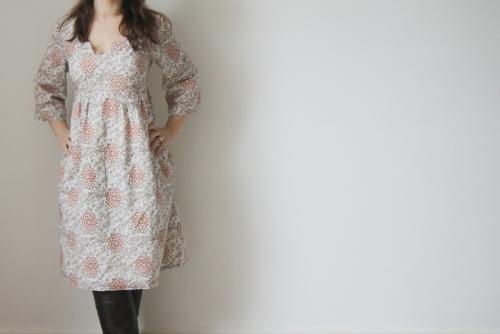 The Crafty Kitty   Organic Voile Washi Dress