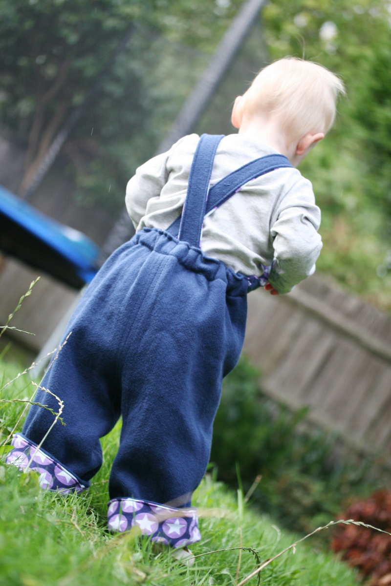 The Crafty Kitty | Big Butt Baby Dungarees